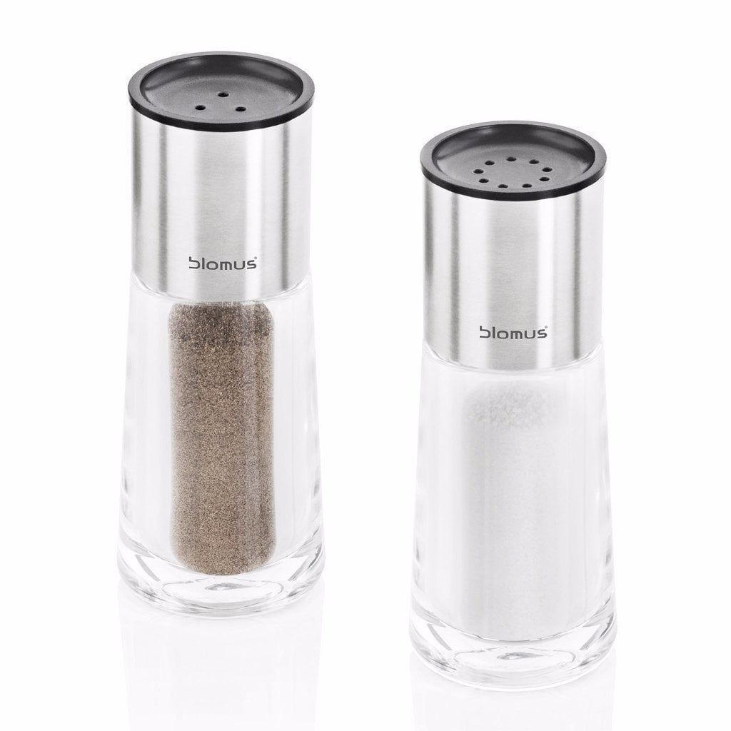 Blomus Salt And Pepper Set Glass Perea