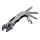 TROIKA Mini Tool with 12 functions MULTI-TOOL SPANNER