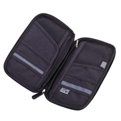 Troika Travel Document Case with RFID Fraud Prevention - Around The World