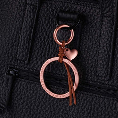 TROIKA Bag Charm TEMPTATION – Rose Gold