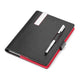 TROIKA Travel Organiser with A5 Notepad and Stylus Pen - Red Pepper