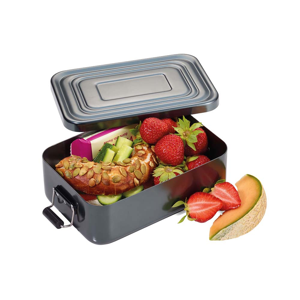 Troika Lunchbox with clip-lock aluminium