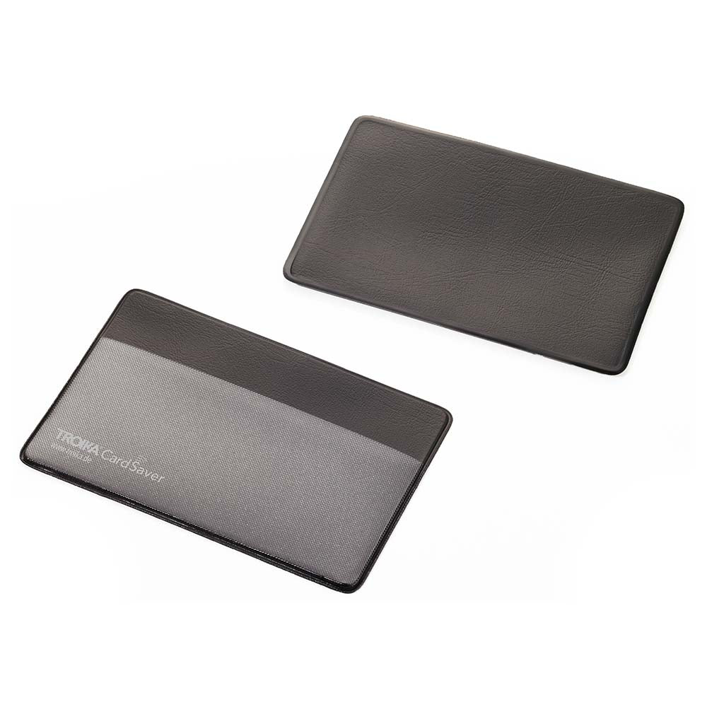 TROIKA Card Sleeve with RFID CARD SAVER for 1 Card