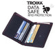 TROIKA Credit Card Case with RFID CARD SAVER 8.0 - 8 Cards