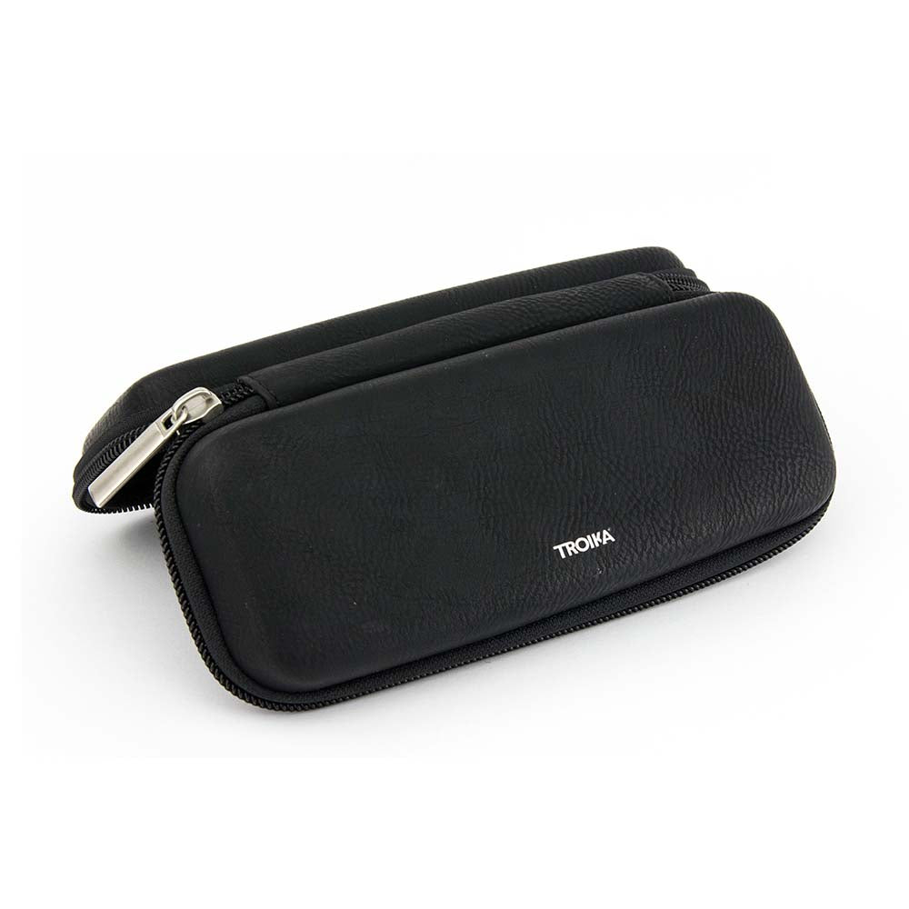 Troika Organiser Case with Zip CASE STUDY - Black