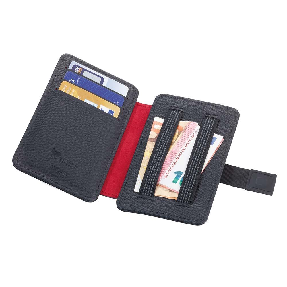 TROIKA Credit Card Case with Fraud Prevention 2-STRAP