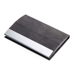 TROIKA Business or Credit Card Case and Stand Function - Dark Grey