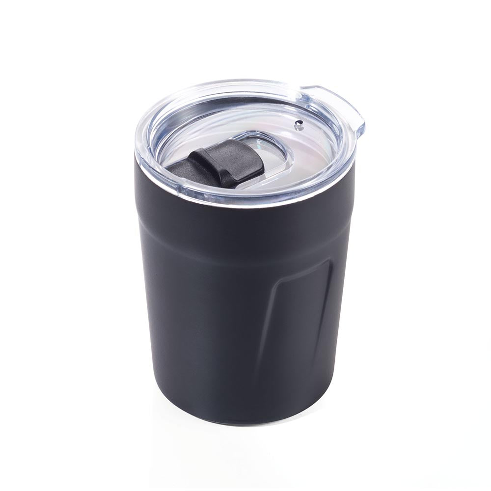 Troika Travel Mug Double-Walled Insulation for 160ml Double Espresso - Black