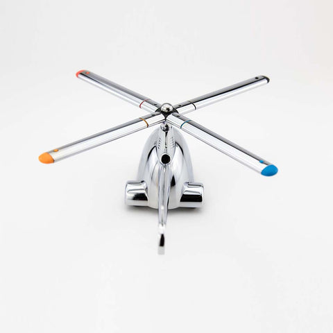 TROIKA Paper Weight with Magnet for Paperclips - Ready For Take Off