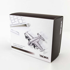 TROIKA Paper Weight with Magnet for Paperclips Super Connie