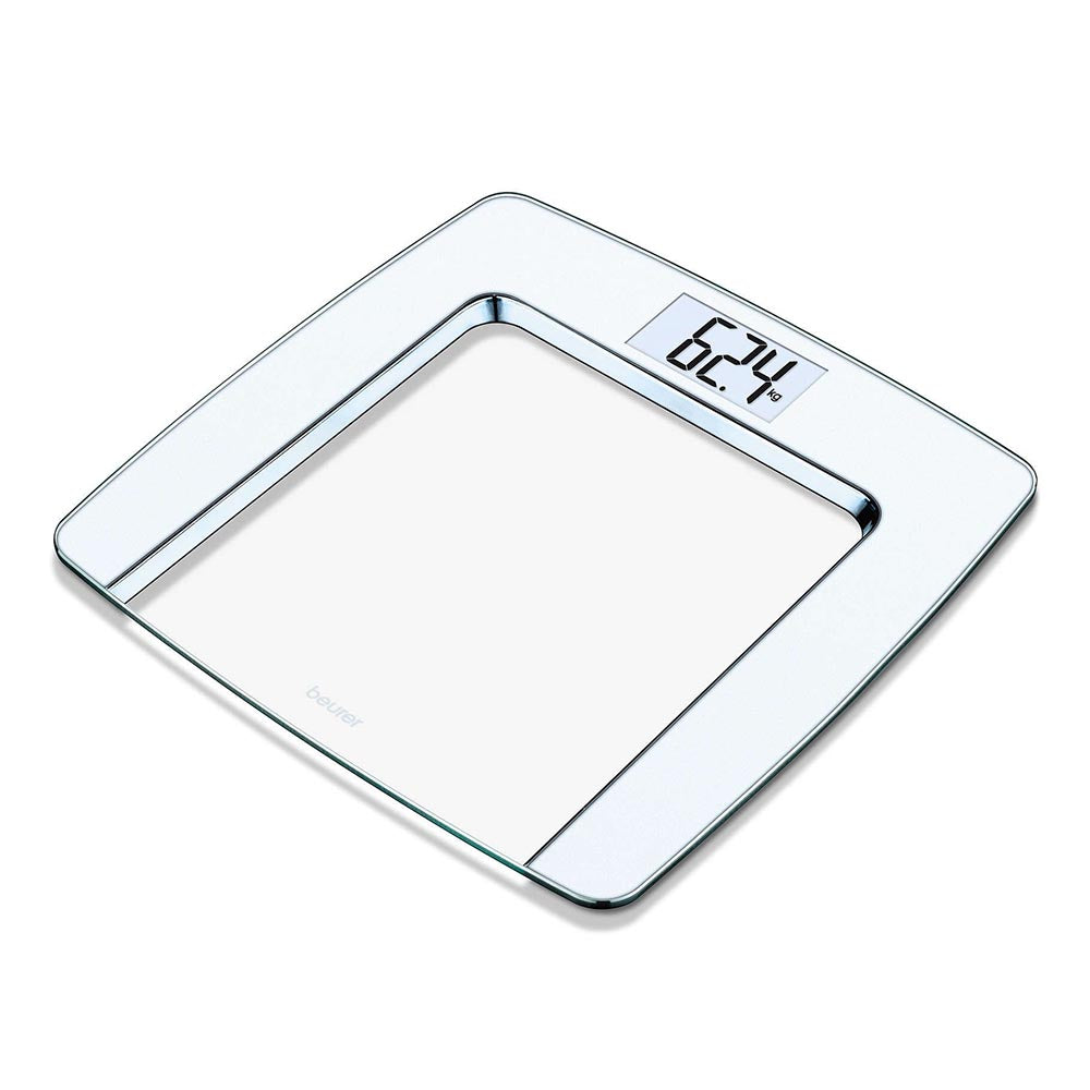 Beurer Glass Bathroom Scale GS 490 - White