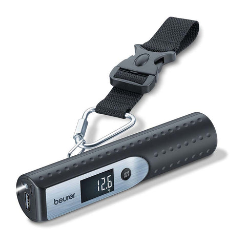 Beurer 3 In 1 Luggage Scale LS 50 with Powerbank & Torch