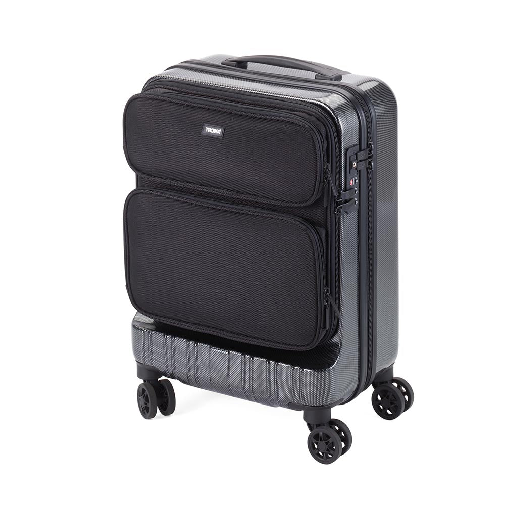 Troika Business Hand Luggage Size Trolley Case - Polycarbonate - 47cm