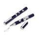 TROIKA Rollerball Pen World In Your Hand - Dark Blue