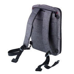 Troika Backpack for Laptops with Integrated USB Cable Saftsack