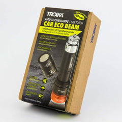TROIKA LED Torch with Emergency Light CAR ECO BEAM - Black/Red