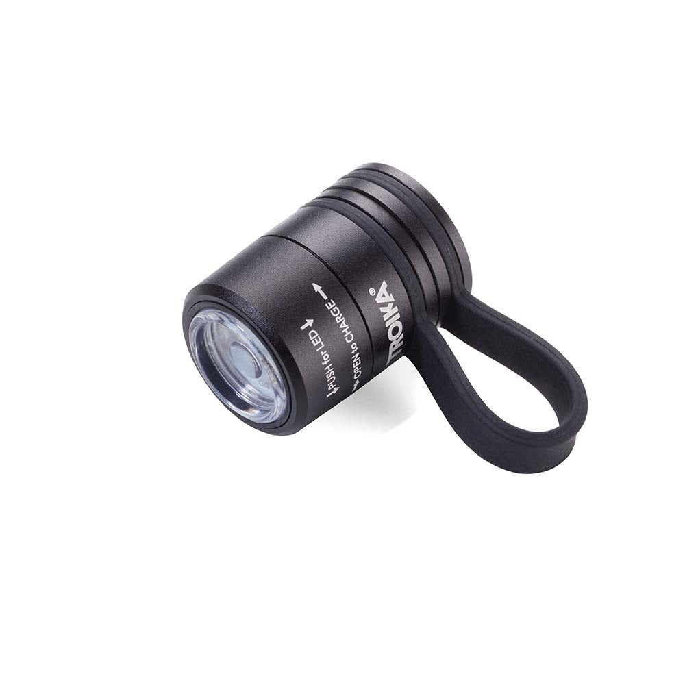 Troika Eco Run Mini Running Torch - Black
