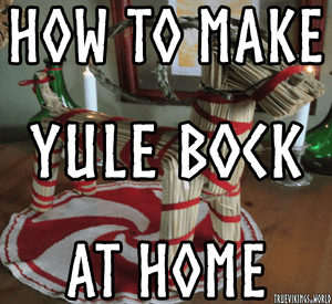 How To Make Yule Bock - Yule Goat DIY
