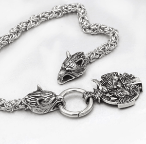 Brynjar Necklace - Handmade King's Chain