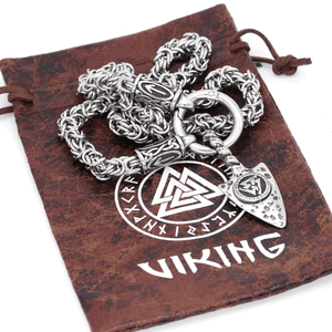Runic Gungnir Necklace - Handmade King's Chain