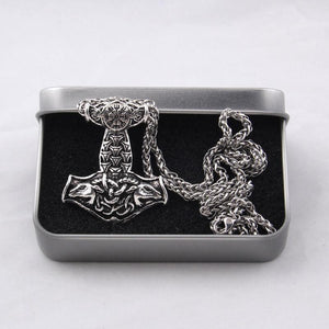Ram Mjolnir Chain Necklace - Limited Edition