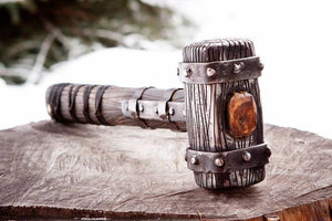 Norse Hunting Hammer - Hand Forged