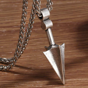 Odin's Arrow Necklace - Stainless Steel
