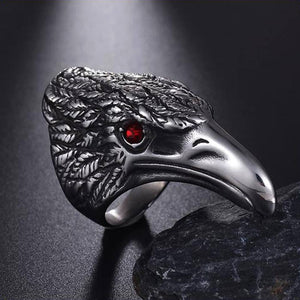 Huginn And Muninn Viking Ring