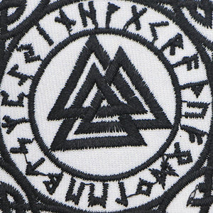 Runic Valknut Clothing Patch