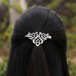 Nordic Knot Viking Hairpin