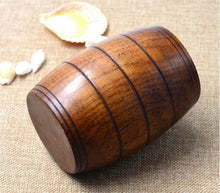 Handmade Wooden Beer Barrel Mug