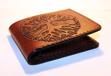 Handmade Men's Tree Of Life Leather Wallet - Limited Edition