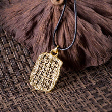 Norse Rune Tablet Necklace