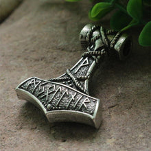 Runic Thor's Hammer Necklace - Limited Edition