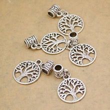 Viking Tree Of Life Hair Beads - Set Of 5