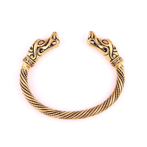 Jormungandr Bracelet - Viking Serpent Arm Ring