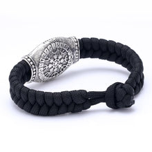 Handmade Helm Of Awe Paracord Bracelet