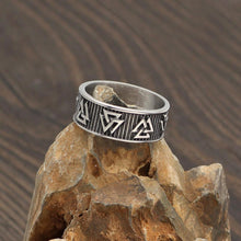 Pagan Viking Valknut Ring