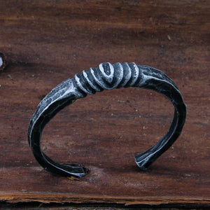 Handmade Authentic Viking Bracelet - Iron-forged