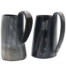 Viking Horn Tankard - Natural Long Horn