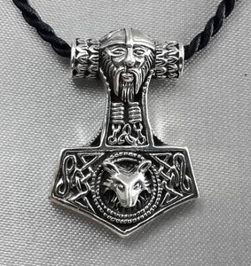 Handmade MJÖLNIR Necklace Thor Edition - 925 Sterling Silver