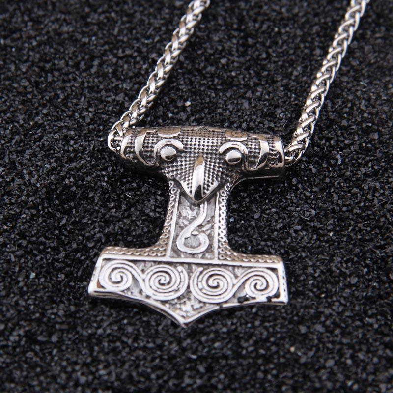 True Vikings 50cm (20 inches) / No Authentic Mjolnir Pendant - Scania Replica