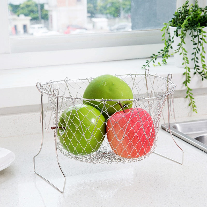 Foldable Cooking Basket
