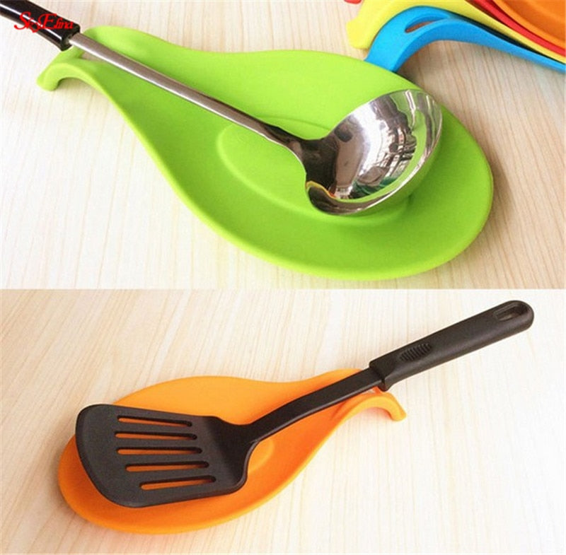 Heat Resistant Spoon Tray