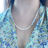 Jade Pearl Necklace