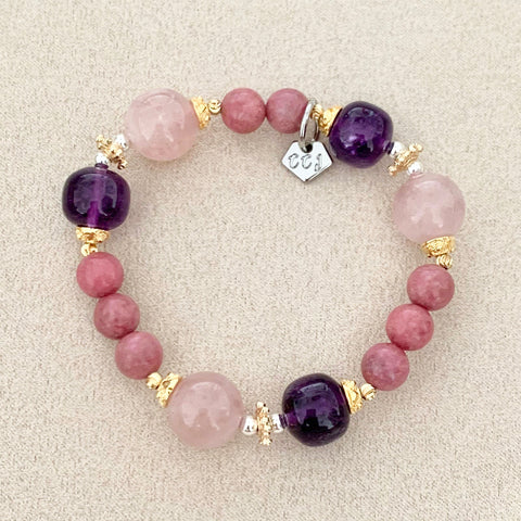 Love of Amethyst & Rose Quartz