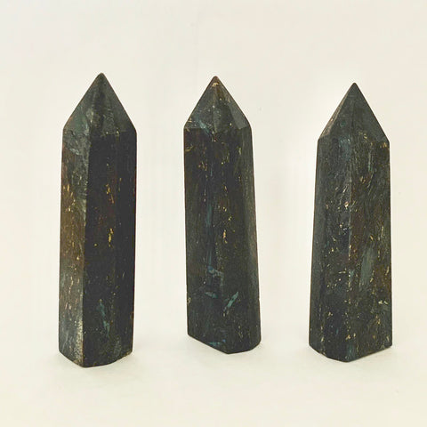 Nuummite Crystal Point