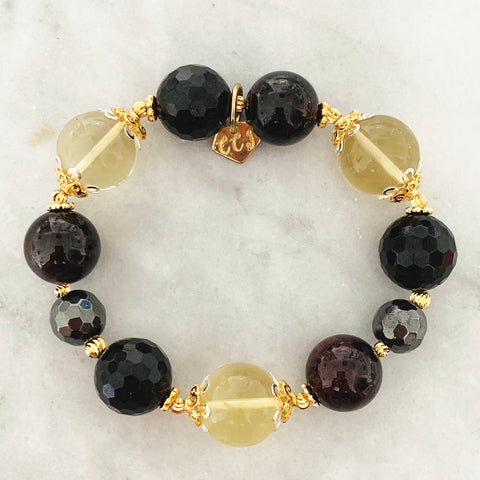 Citrine All Black