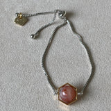 Oregon Sunstone La Forma Hexagon Bracelet