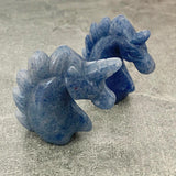Blue Aventurine Unicorn Crystal